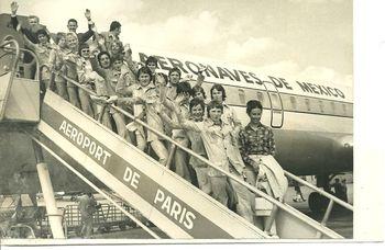 Départ Mexico 1971