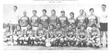 Equipe de France 1971