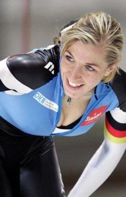 Annie Friesinger (patinage de vitesse, ALL)