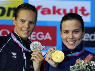 Natalie Coughlin (natation, USA)