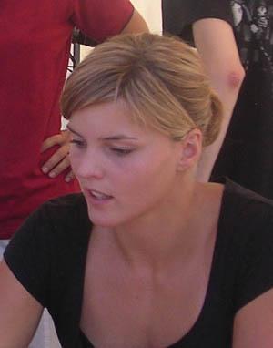 Susanna Kallur (athlé, SUE)
